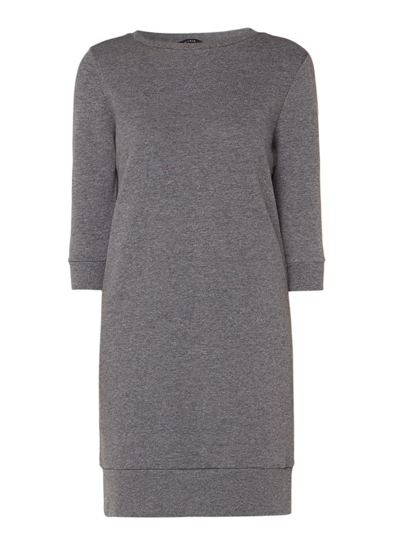 Nikkie Sweaterdress met driekwart mouw donkergrijs