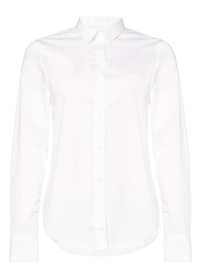 Jigsaw Overhemd in katoenblend met kraag