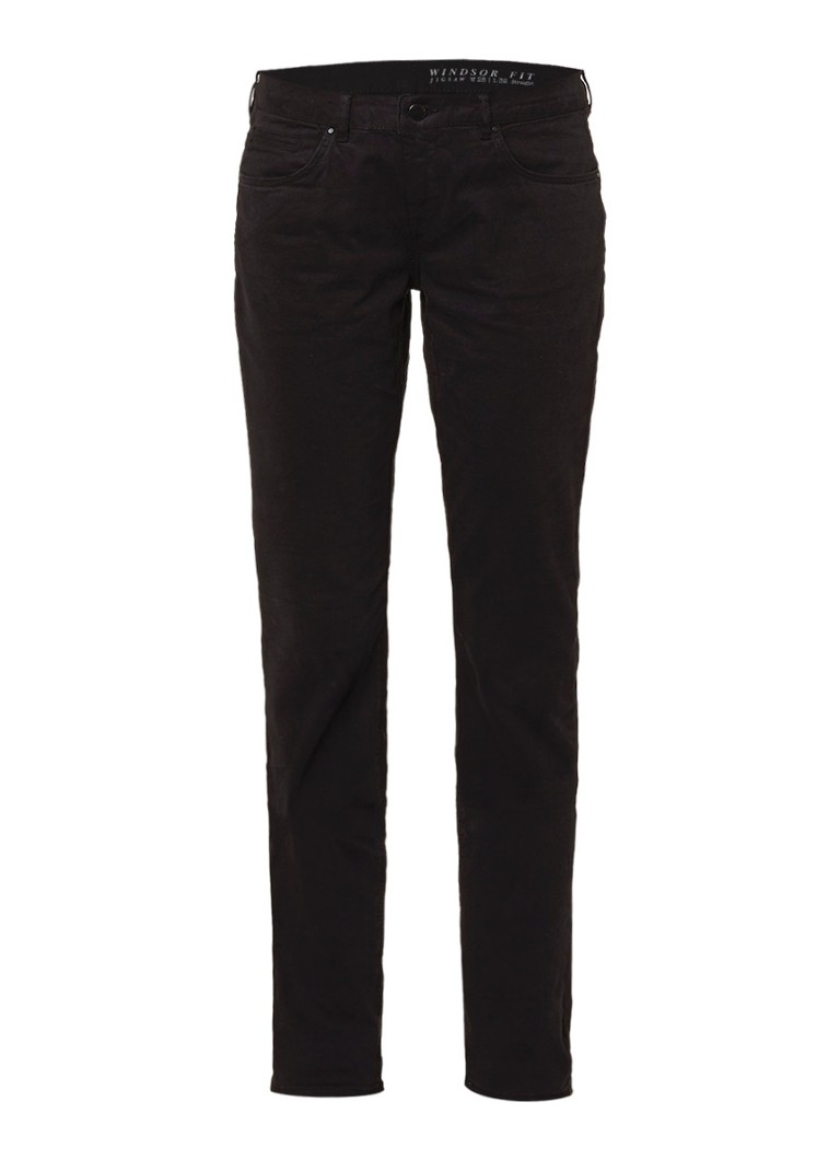 Jigsaw Windsor mid rise straight fit jeans