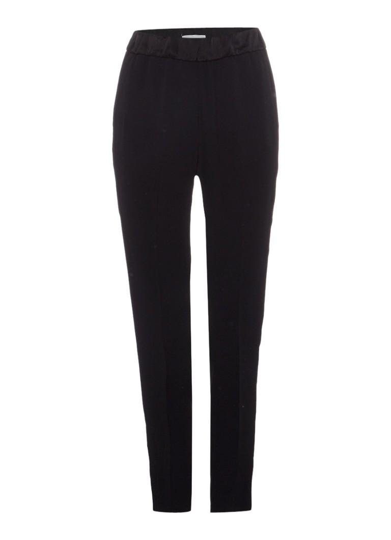 Jigsaw Crêpe pantalon met elastische tailleband