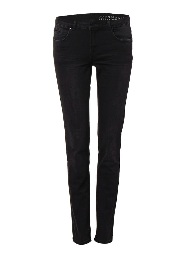 Jigsaw Richmond mid rise skinny jeans met faded look