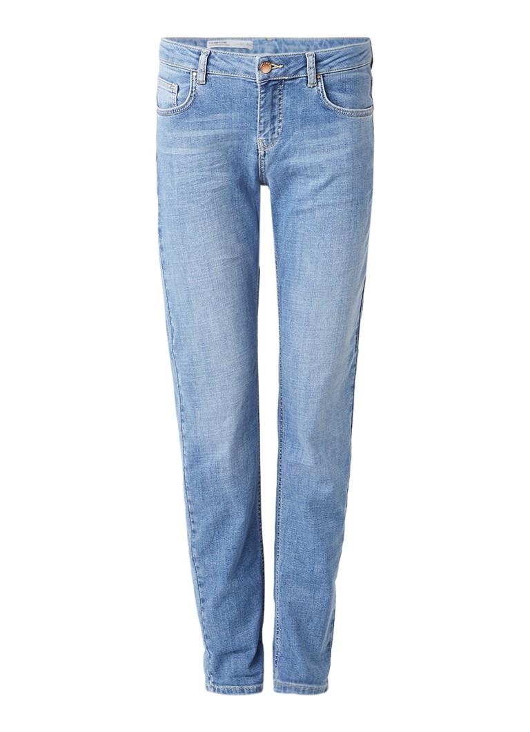 Jigsaw Hampton supersoft mid rise slim fit boyfriend jeans