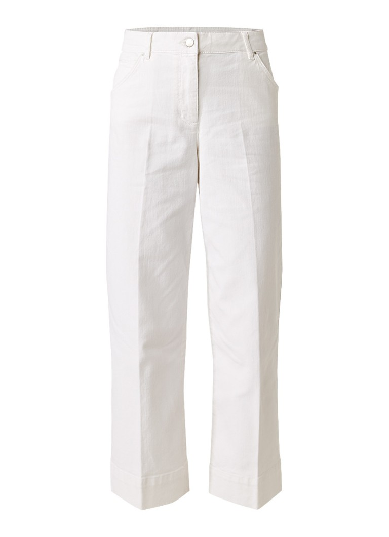 Jigsaw Hoxton high rise cropped flared jeans
