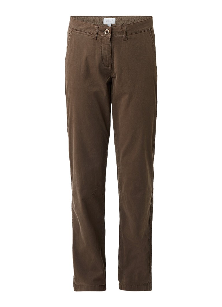 Jigsaw Washed Cotton chino met