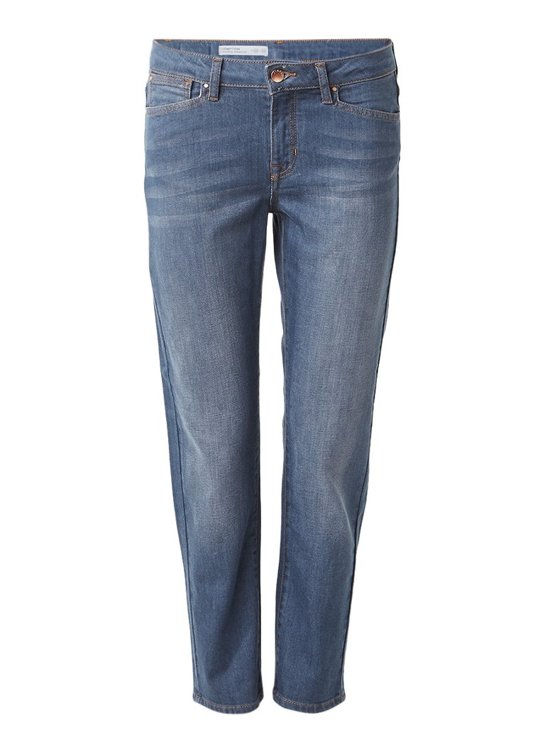 Jigsaw Compton high rise cropped straight fit jeans