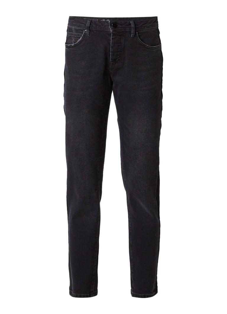 Jigsaw Portobello Straight fit high rise jeans met stretch