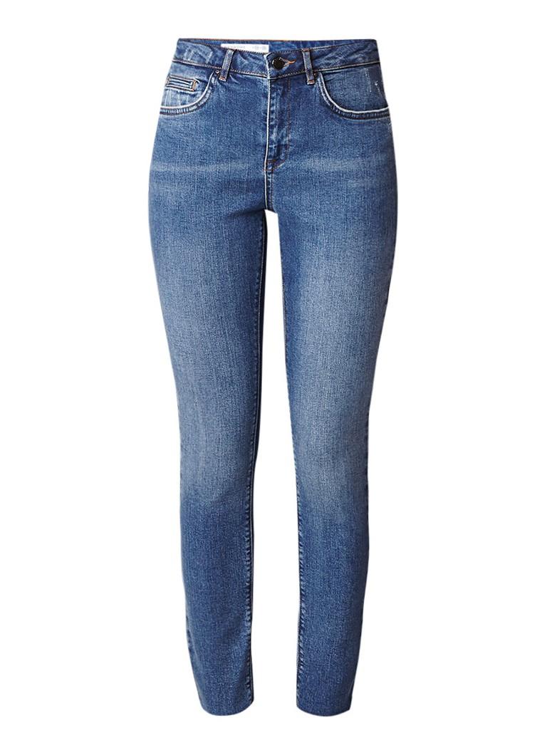 Jigsaw Richmond high rise skinny jeans met gerafelde zoom