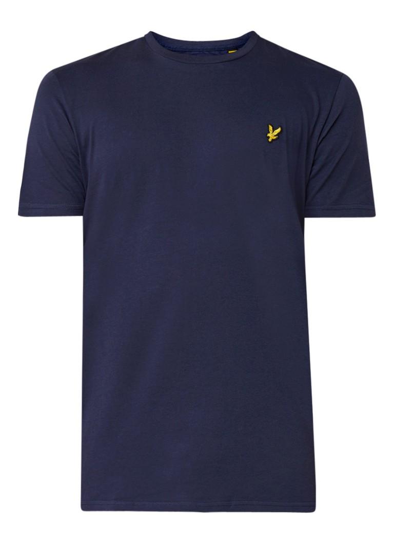Lyle & Scott Basic T-shirt van katoen