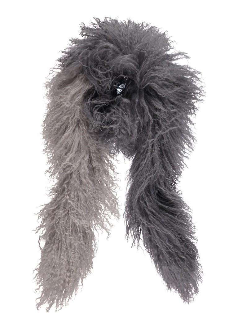 Jigsaw Sjaal van schapenvacht 155 x 5 cm