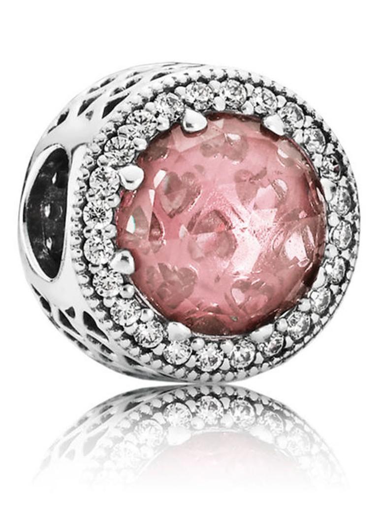 Pandora Roze hartjes bedel 791725NBP
