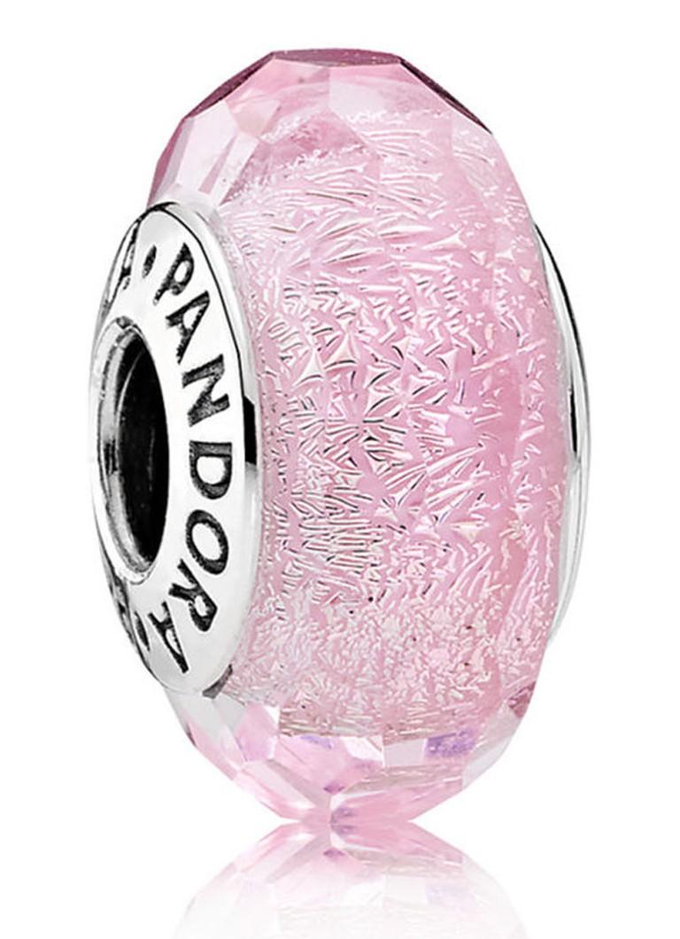 Pandora Bedel roze muranoglas 791650