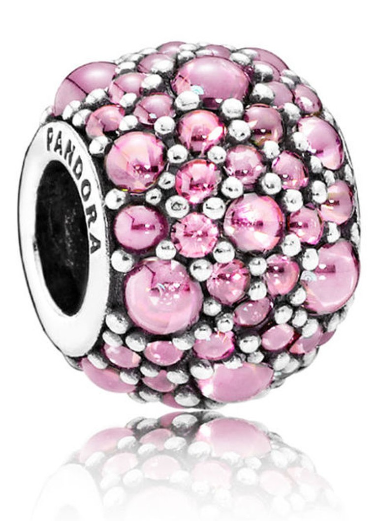 Pandora Bedel roze waterdruppels 791755PCZ