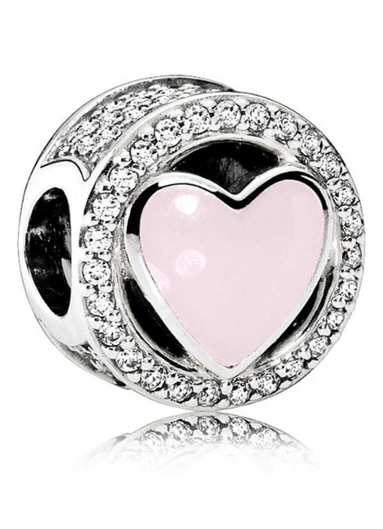 Pandora Bedel roze liefde 792034CZ