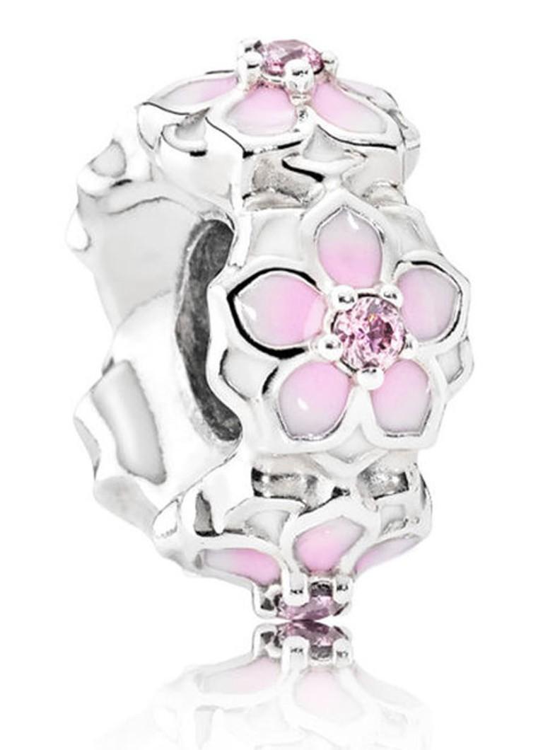 Pandora Spacer bedel roze magnolia 792088PCZ