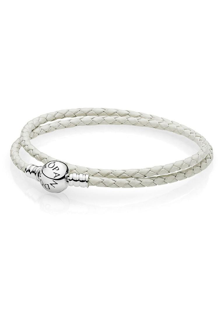 Pandora Moments dubbele gevlochten armband 590745CIW