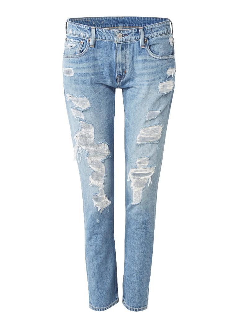 Denim  and  Supply Ralph Lauren Mid rise 7 8 skinny jeans met destroyed details