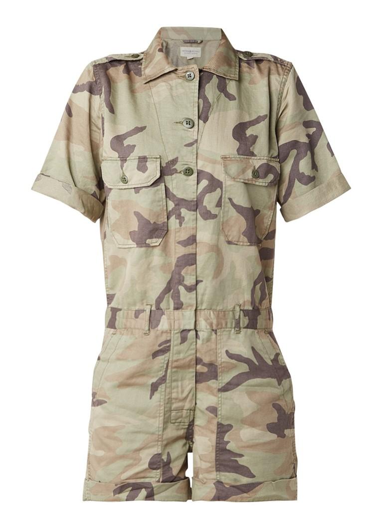Denim  and  Supply Ralph Lauren Playsuit met camouflagedessin