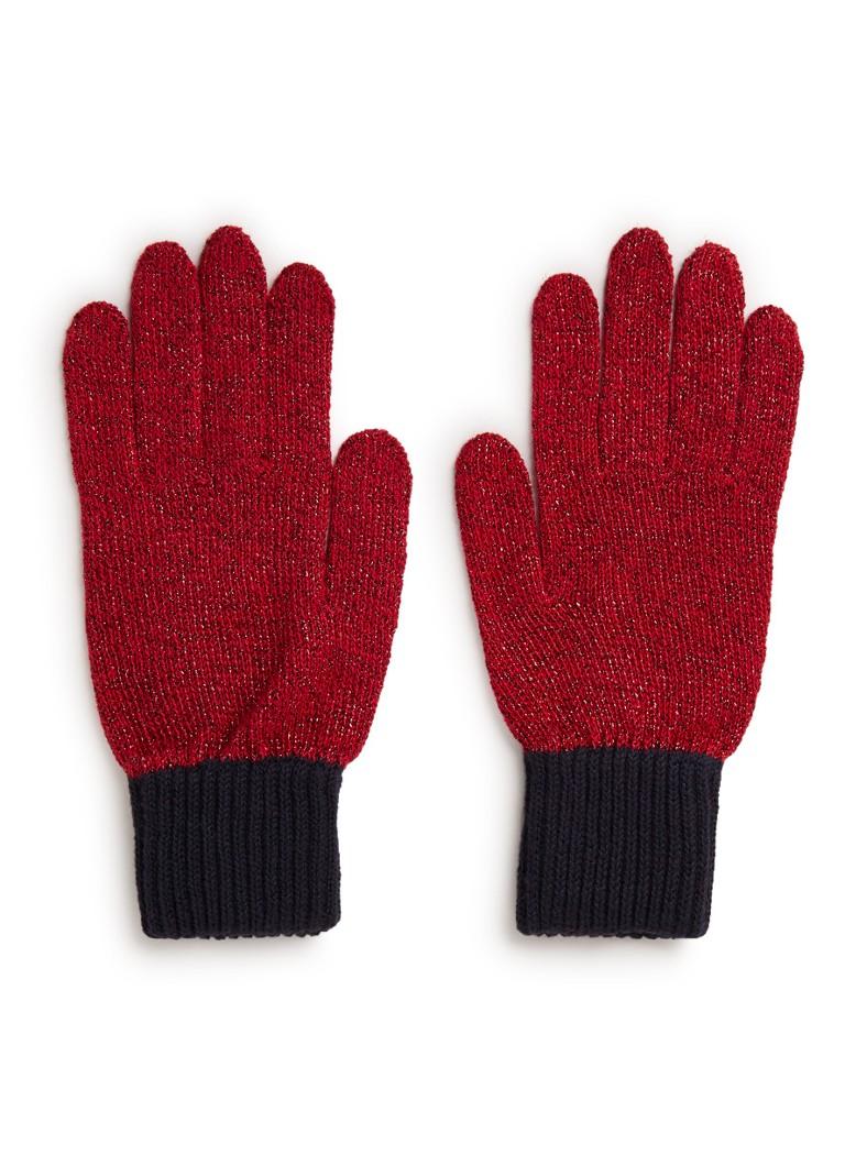Tommy Hilfiger Handschoenen in katoenblend met lurex