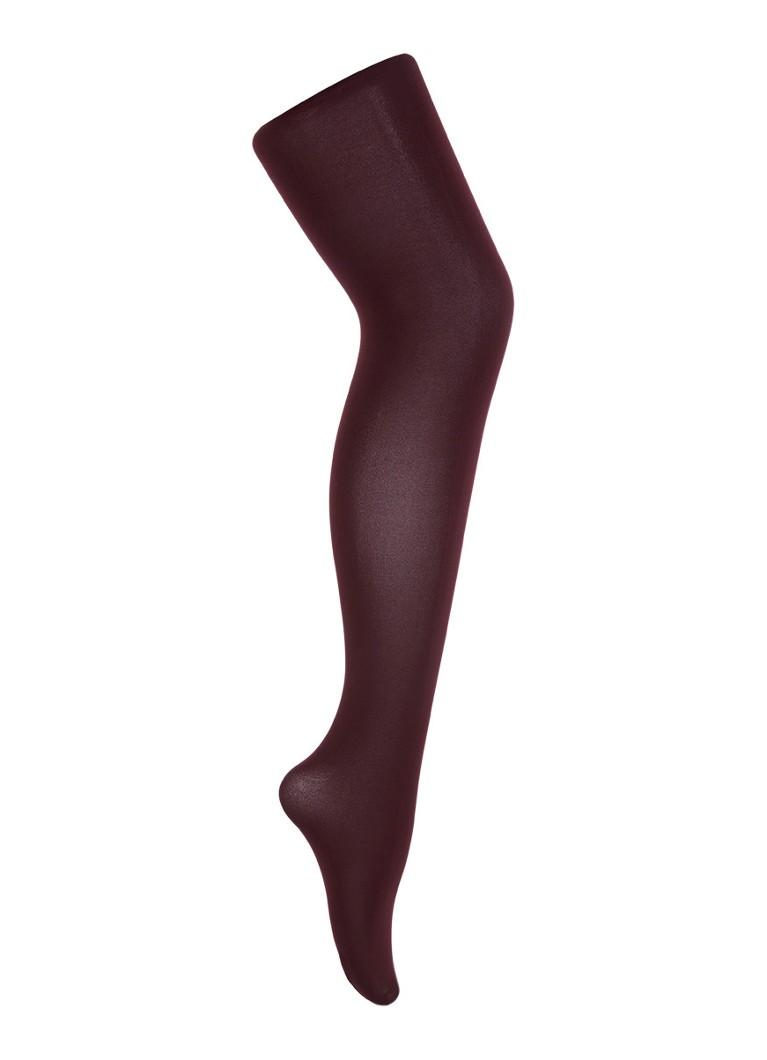 Oroblu Different Total Comfort panty in 80 denier bordeaux