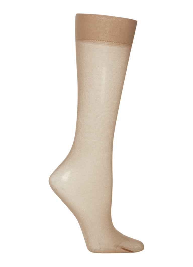 Wolford Satin Touch kniekousen in 20 denier
