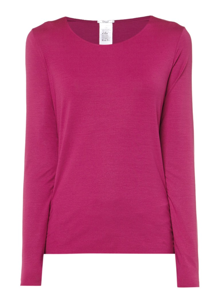 Wolford Bruine longsleeve Pure Pullover