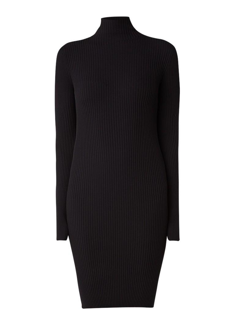 Wolford Ribgebreide jersey jurk