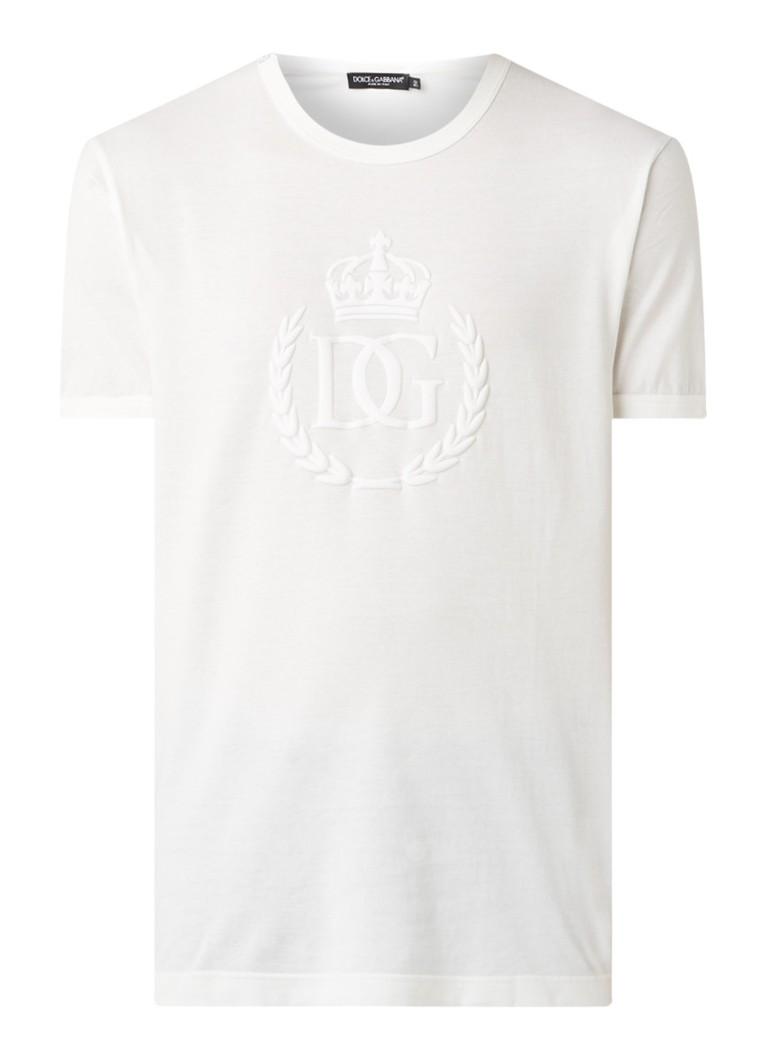 Flock T shirt met logo