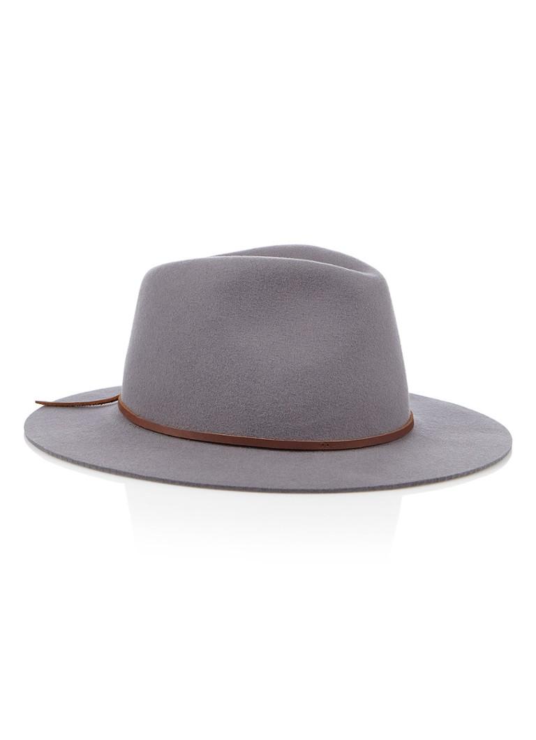 Brixton Wesley Fedora hoed van wol