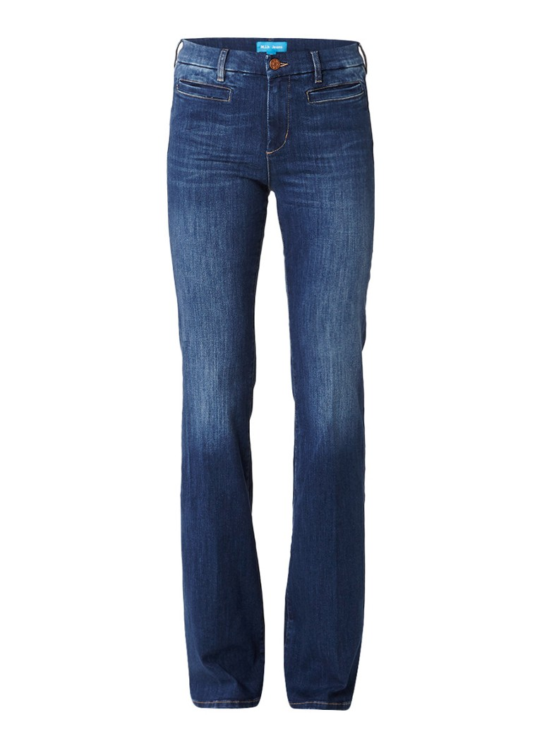 M i h Jeans Marrakesh high rise kick flare jeans