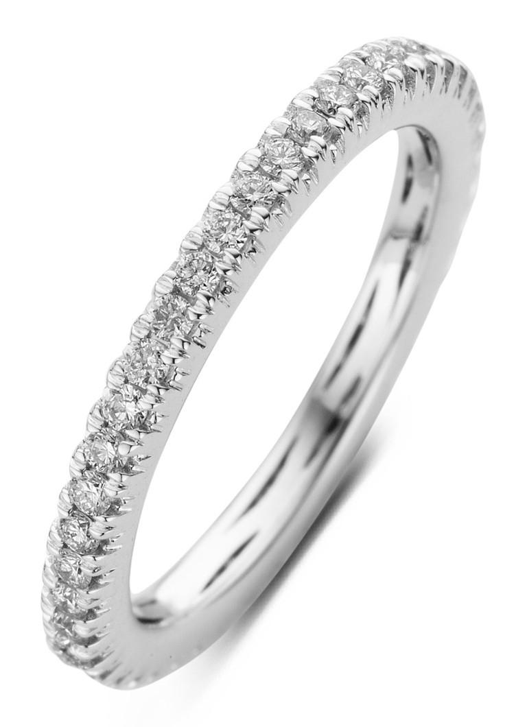 Diamond Point Ensemble witgouden ring