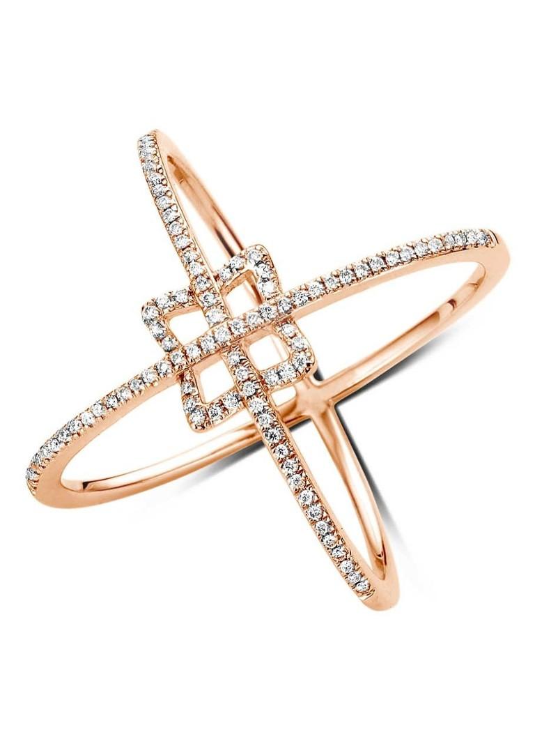 Diamond Point Diamond Point Like a star roségouden ring