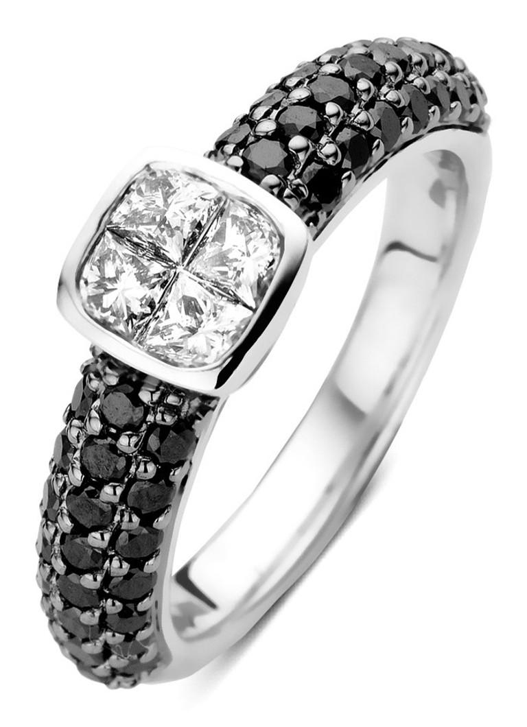 Diamond Point Fourever witgouden ring