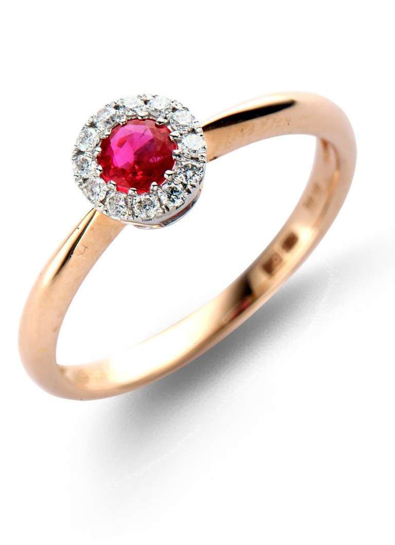 Diamond Point Colors gouden ring