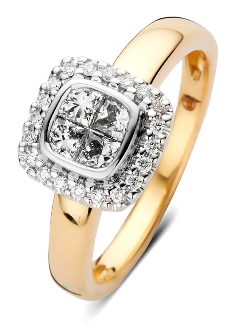 Diamond Point Fourever gouden ring