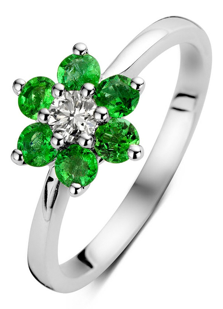 Diamond Point Colors witgouden ring