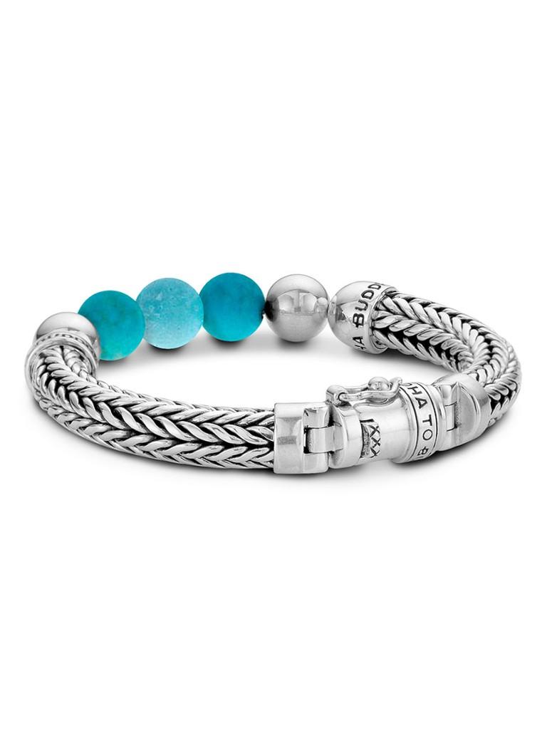 Buddha to Buddha Armband Ellen Beads van zilver