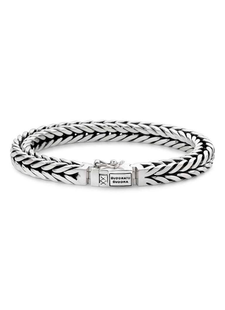 Buddha to Buddha Armband Barbara van zilver
