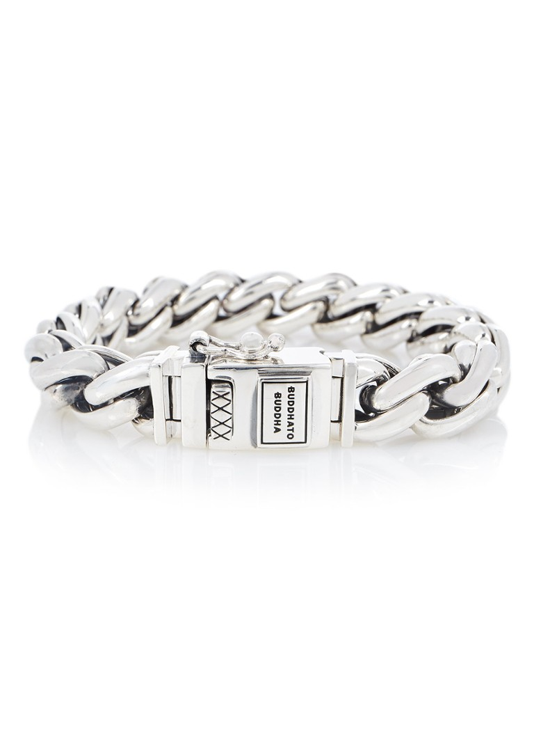 Buddha to Buddha Armband Carmen Medium van zilver