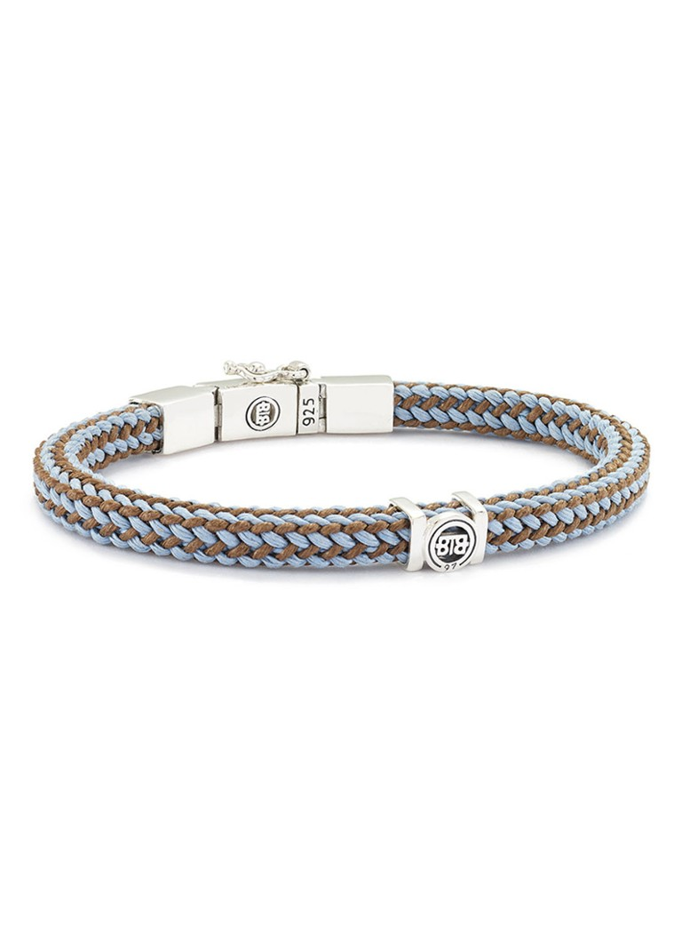 Buddha to Buddha Armband Denise met kliksluiting van zilver