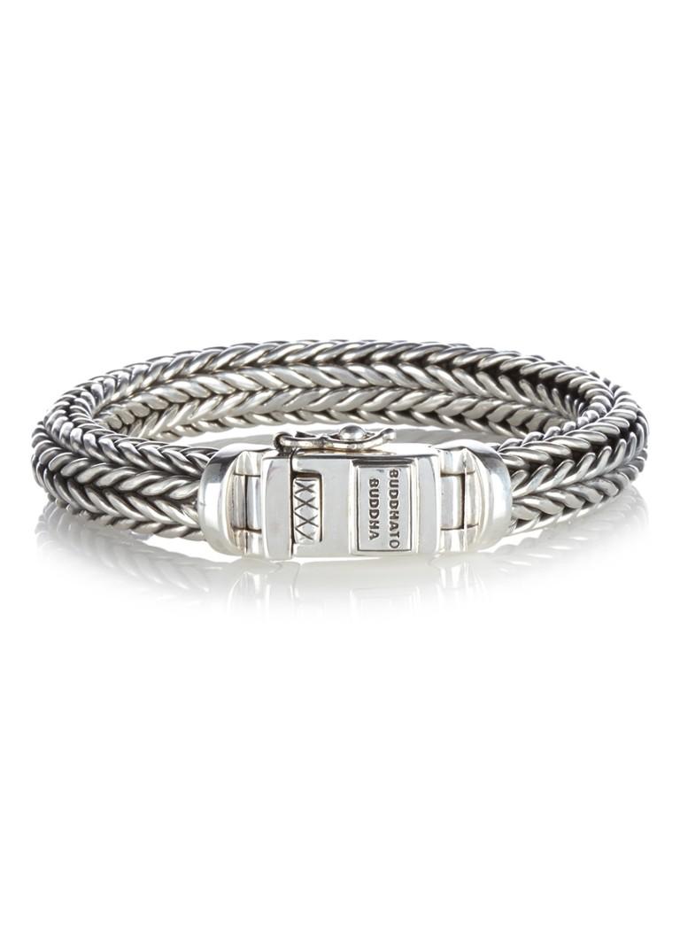 Buddha to Buddha Armband Ellen Medium van zilver
