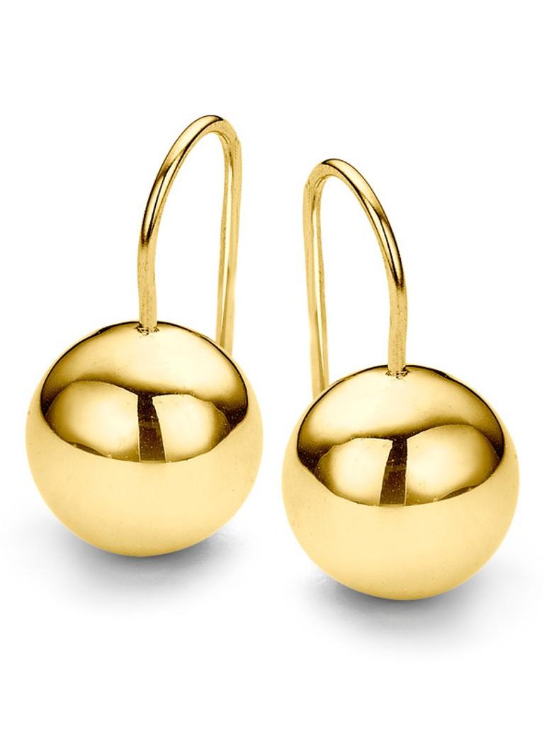 Casa Jewelry Oorhangers Bally goudkleurig