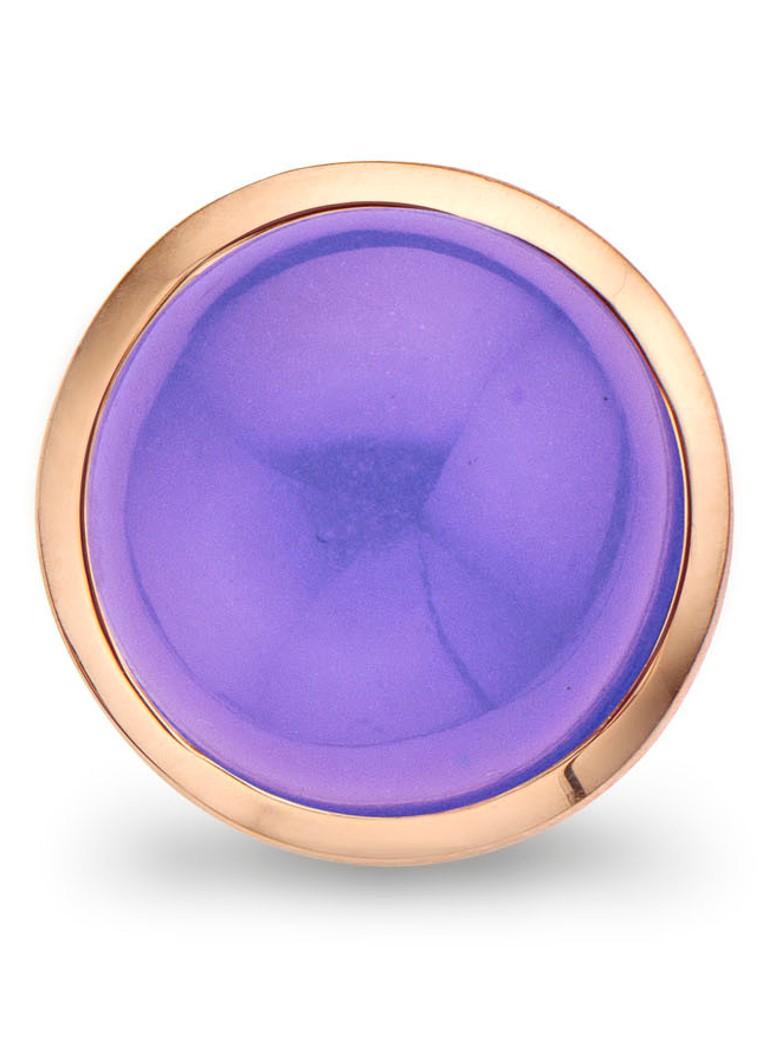 Casa Jewelry Clip Bubbles Lila Milky