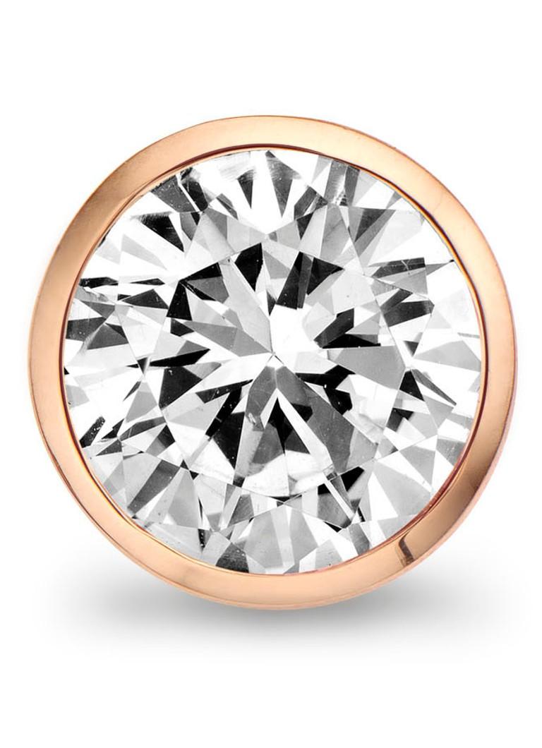 Casa Jewelry Clip Bubbles White Facet