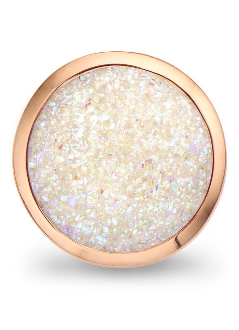 Casa Jewelry Clip glitterkwarts Bubbles
