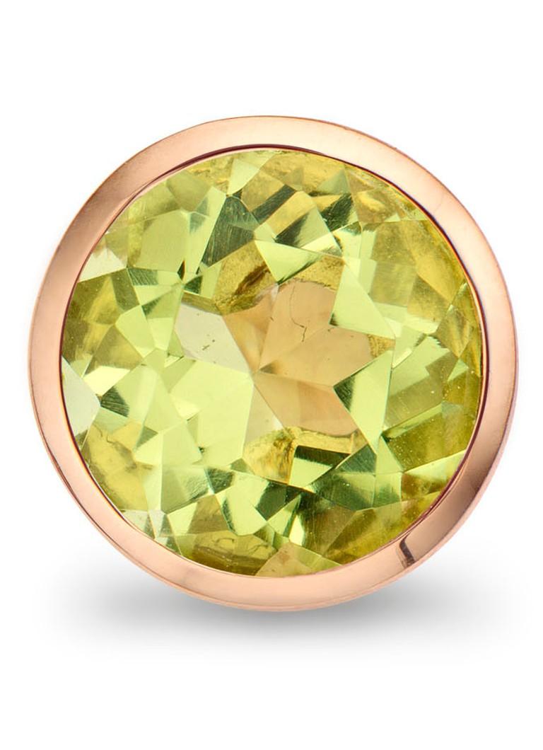 Casa Jewelry Clip Bubbles Green Facet