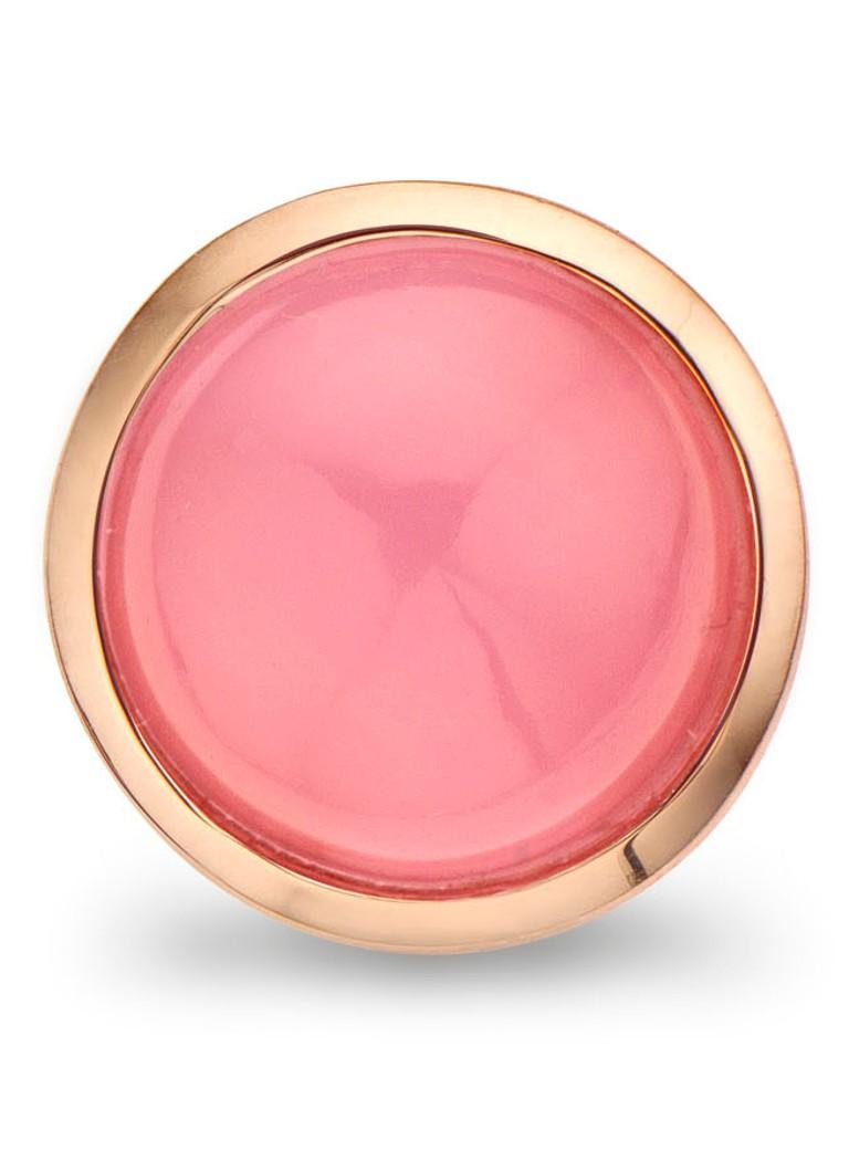 Casa Jewelry Clip Bubbles Pink Murano