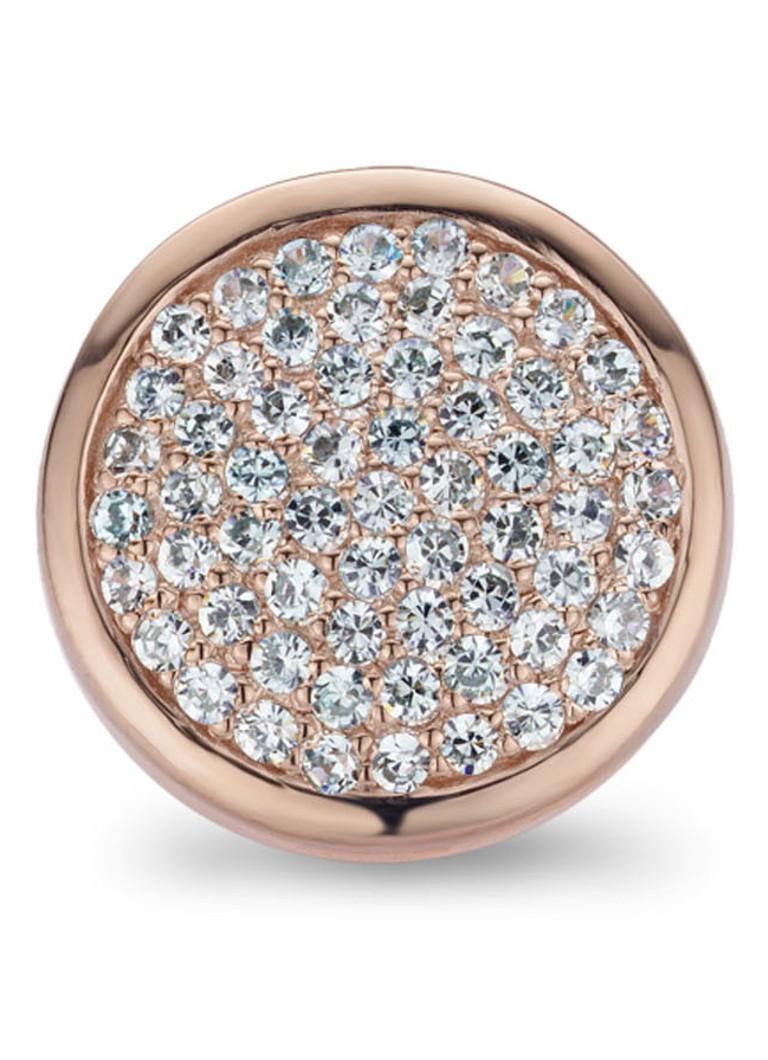 Casa Jewelry Sieradenclip met lichtblauwe zirkonia