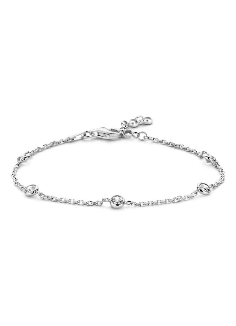 Casa Jewelry Armband Pruts zirkonia zilver