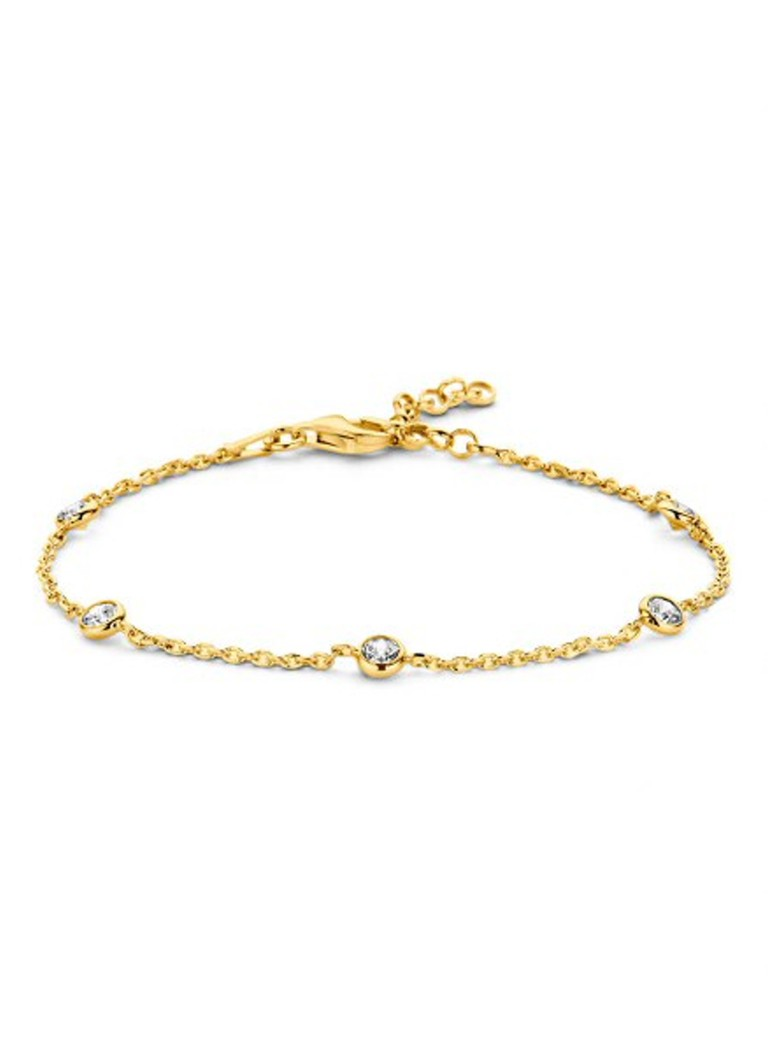 Casa Jewelry Armband Pruts zirkonia goudkleurig
