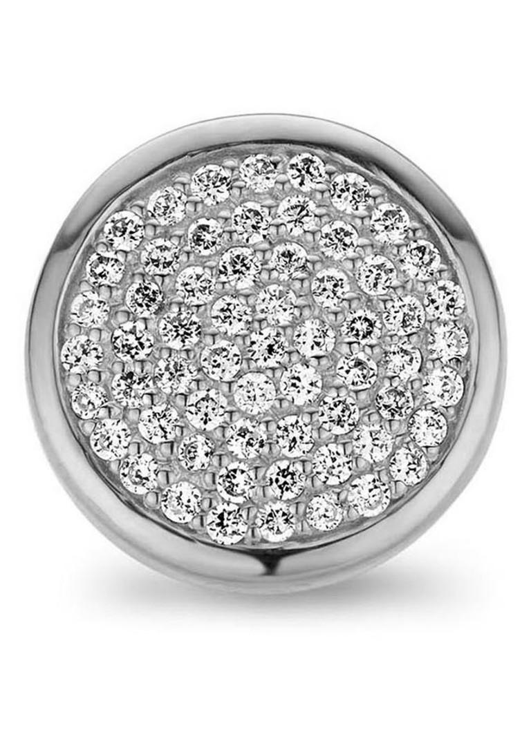 Casa Jewelry Casa Jewelry Clip Grey Diamonds met zirkonia